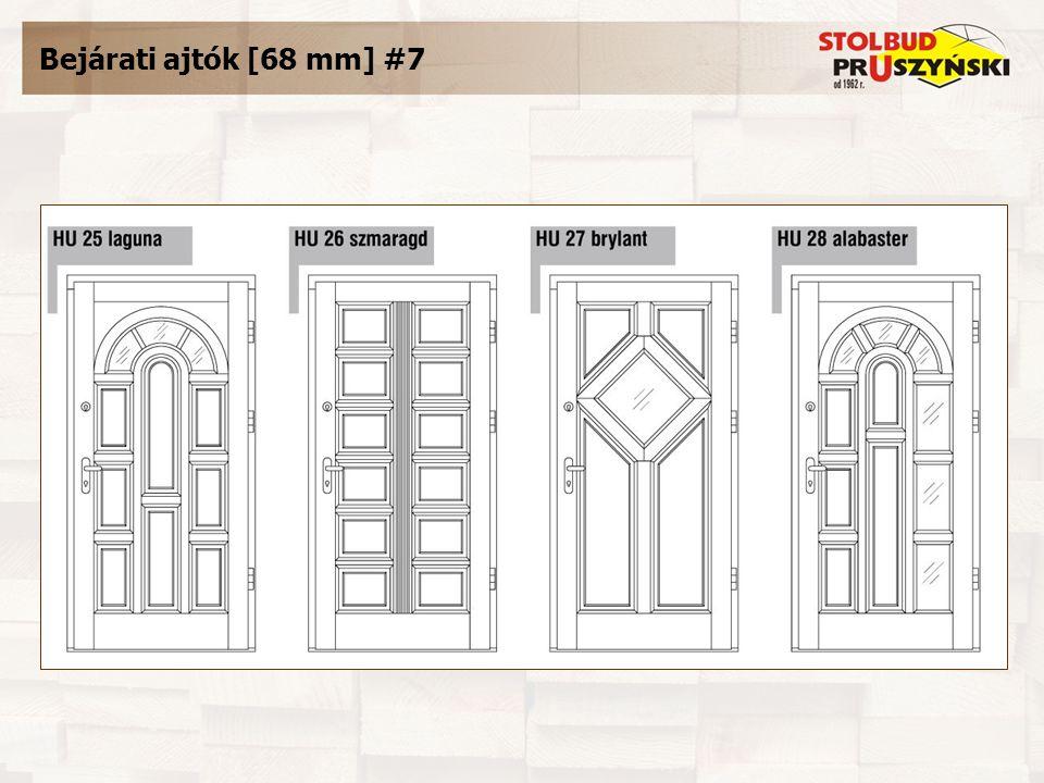 Bejárati ajtók [68 mm] #7
